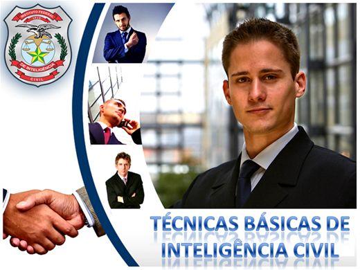 Curso Online de TÉCNICAS BÁSICAS DE INTELIGÊNCIA CIVIL