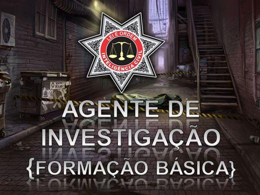 Curso Online de FORMAÇÃO DE AGENTE DE INVESTIGAÇÃO