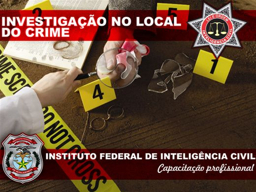 Curso Online de INVESTIGAÇÃO NO LOCAL DO CRIME
