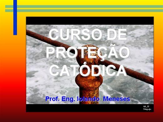 Curso Online de PROTEÇÃO CATÓDICA