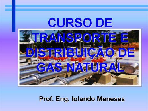 Curso Online de Curso de Transporte e Distribuição de Gás Natural