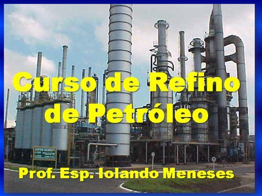Curso Online de REFINO DE PETRÓLEO
