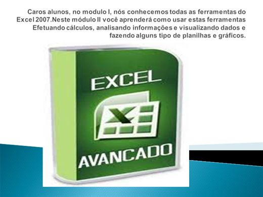 Curso Online de Excel Avançado Modulo II