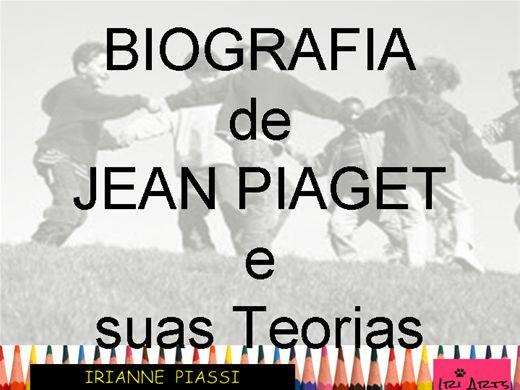 Curso Online de BIOGRAFIA DE JEAN PIAGET E SUAS TEORIAS