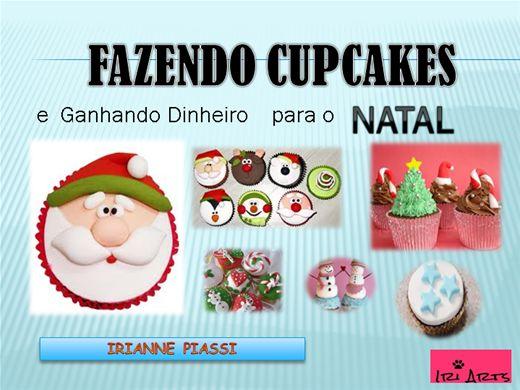 Curso Online de Fazendo Cupcakes e Ganhando Dinheiro para o NATAL