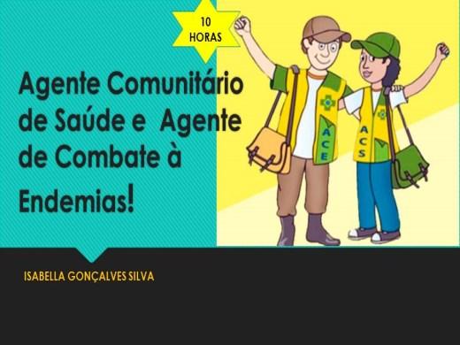 Curso Online de AGENTE COMUNITÁRIO DE SAÚDE E AGENTE DE COMBATE A ENDEMIAS