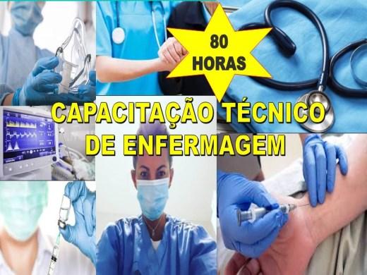 Curso Online de CAPACITAÇÃO TÉCNICO DE ENFERMAGEM