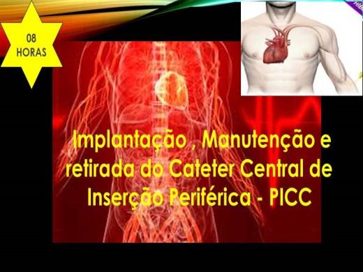 Curso Online de Implantação , Manutenção e retirada do Cateter Central de Inserção Periférica - PICC