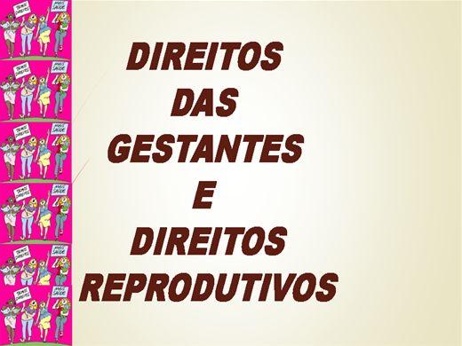 Curso Online de Direitos das Gestantes e Direitos Reprodutivos
