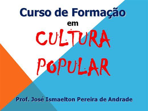 Curso Online de Formação em Cultura Popular