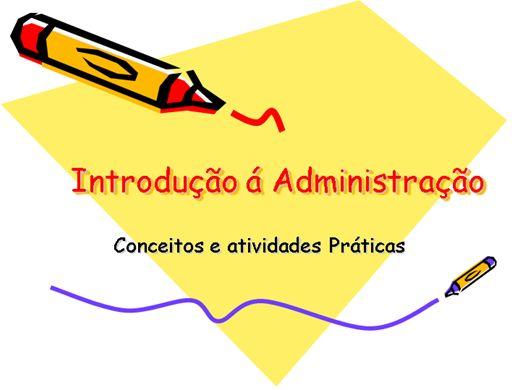 Curso Online de Introdução á Administração