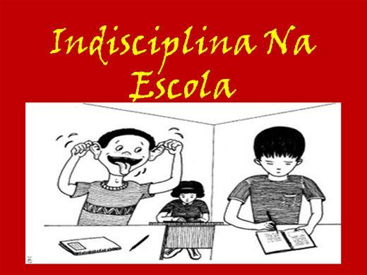 Curso Online de Indisciplina na Escola