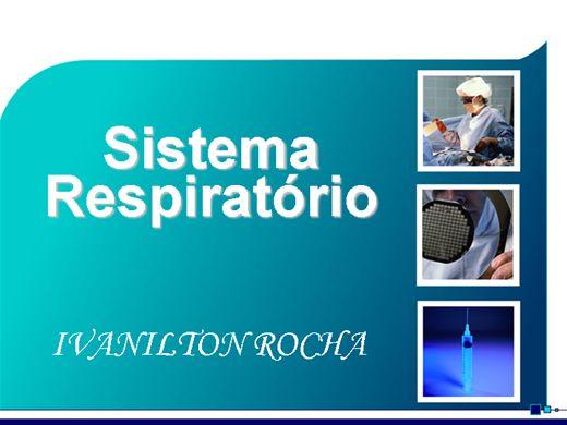 Curso Online de ANATOMIA BASICA  DO SISTEMA RESPIRATÓRIA
