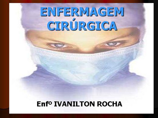 Curso Online de NOÇÕES BÁSICAS DA ENFERMAGEM NO CENTRO CIRURGICO, RPA E CME .