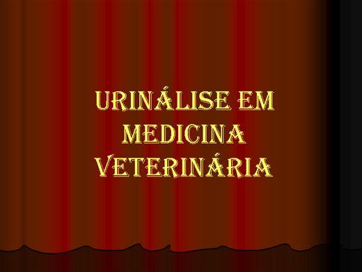 Curso Online de URINÁLISE (MEDICINA VETERINÁRIA) - COMPÊNDIO COM FOTOS