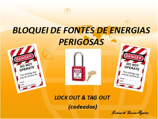 Curso Online de BLOQUEIO DE FONTES DE ENERGIAS PERIGOSAS - LOCKOUT & TAGOUT