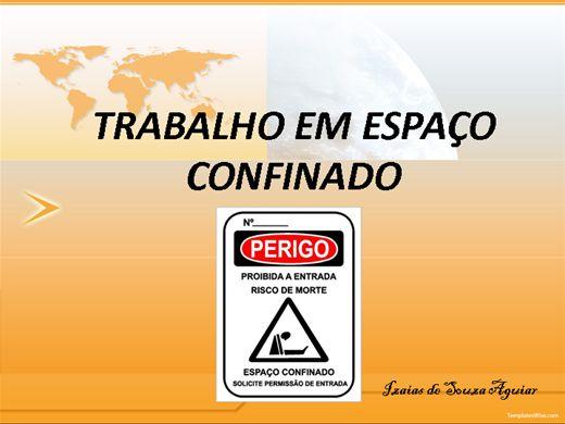 Curso Online de NR 33 - ESPAÇO CONFINADO