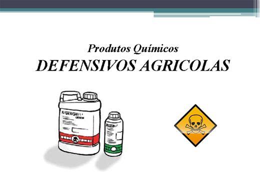 Curso Online de PRODUTOS QUÍMICOS - DEFENSIVOS AGRICOLAS