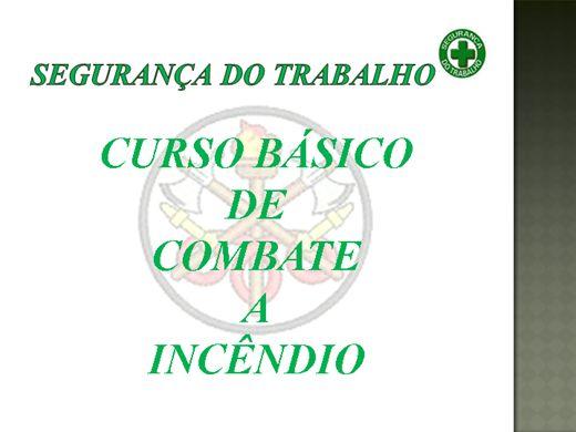 Curso Online de EQUIPE DE COMBATE A INCÊNDIO - COMPLETO