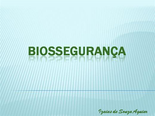 Curso Online de BIOSSEGURANÇA