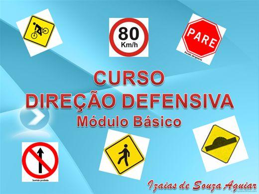 Curso Online de CURSO DIREÇÃO DEFENSIVA-MÓDULO BÁSICO