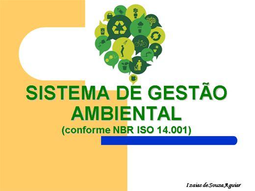 Curso Online de SISTEMA DE GESTÃO AMBIENTAL (conforme a ISO 14001)
