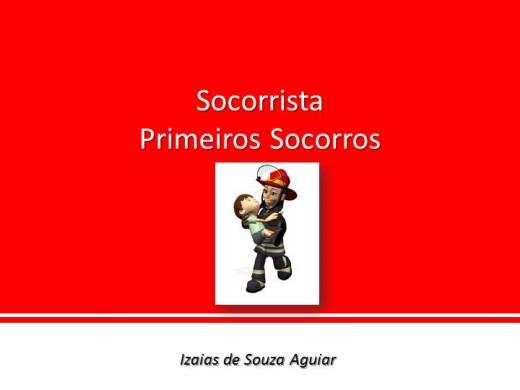 Curso Online de SOCORRISTA - PRIMEIROS SOCORROS