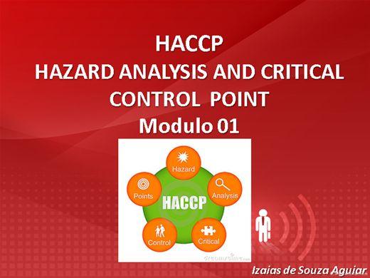 Curso Online de HACCP - ANÁLISE DE PERIGO E CONTROLE DE PONTOS CRÍTICOS Modulo 01 (Segurança Alimentar)