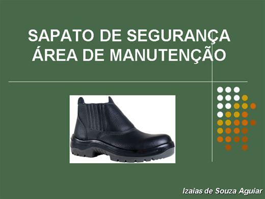 Curso Online de SAPATOS DE SEGURANÇA