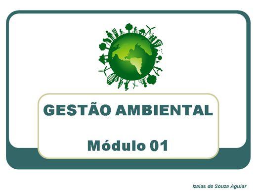 Curso Online de GESTÃO AMBIENTAL - Módulo 01