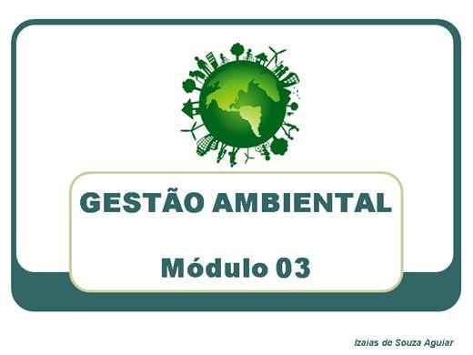 Curso Online de GESTÃO AMBIENTAL - Módulo 03