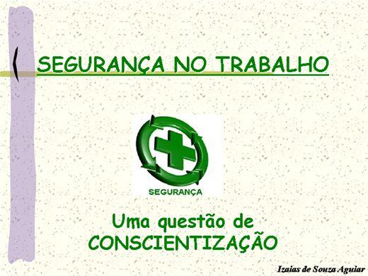 Curso Online de SEGURANÇA NO TRABALHO