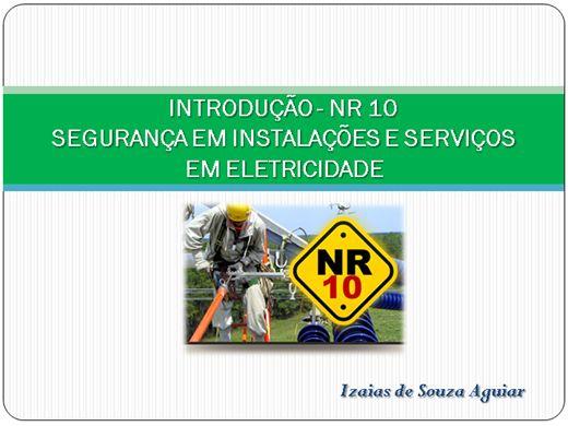 Curso Online de CURSO BÁSICO DE NR 10 - SEGURANÇA EM INSTALAÇÕES ELÉTRICA