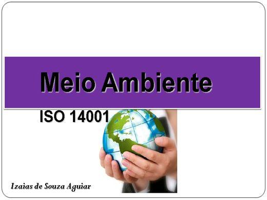Curso Online de MEIO AMBIENTE - ISO 14001
