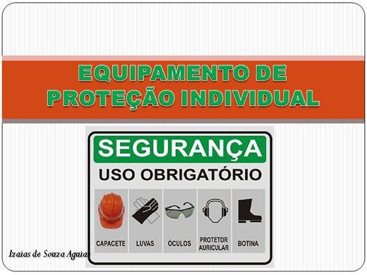Curso Online de PALESTRA - EQUIPAMENTOS DE PROTEÇÃO INDIVIDUAL - EPI