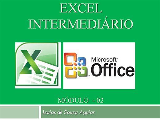 Curso Online de EXCEL INTERMEDIÁRIO - Módulo 02