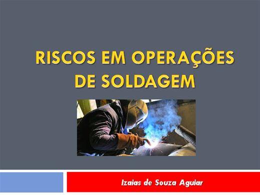 Curso Online de RISCOS NA OPERAÇÃO DE SOLDAGEM