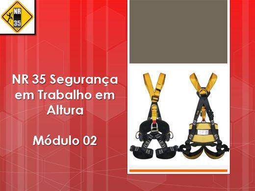 Curso Online de NR 35 - SEGURANÇA DO TRABALHO EM ALTURA - Módulo 02