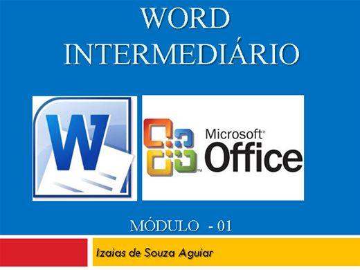 Curso Online de WORD INTERMEDIÁRIO - Módulo 01