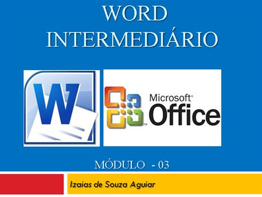 Curso Online de WORD INTERMEDIÁRIO - Módulo 02