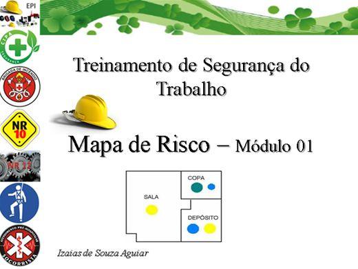 Curso Online de MAPAS DE RISCOS - Módulo 01
