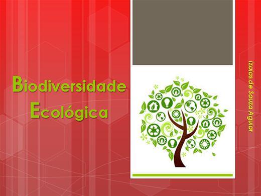 Curso Online de BIODIVERSIDADE AMBIENTAL E ECOLOGIA
