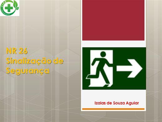 Curso Online de NORMA REGULAMENTADORA - NR 26 SINALIZAÇÃO DE SEGURANÇA