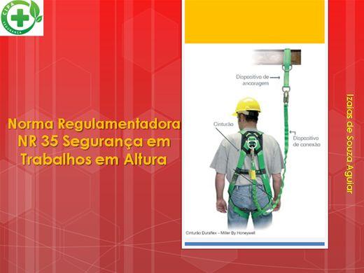 Curso Online de NORMA REGULAMENTADORA - NR 35 TRABALHO EM ALTURA