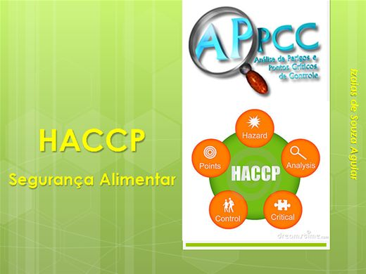 Curso Online de SEGURANÇA ALIMENTAR - HACCP