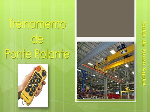 Curso Online de NR 11 - TREINAMENTO DE OPERAÇÃO DE PONTE ROLANTE