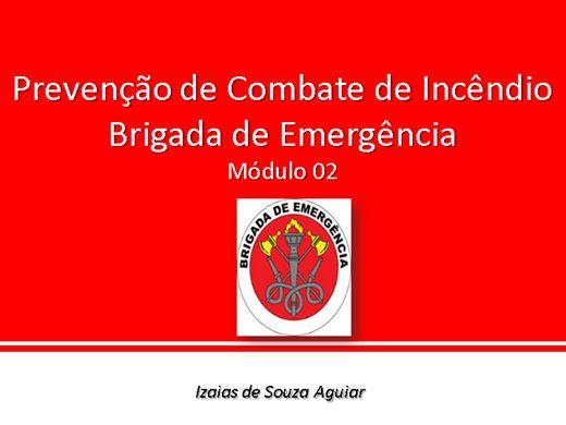 Curso Online de Prevenção de Combate de Incêndio  Brigada de Emergência -  Módulo 02