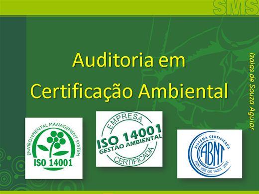 Curso Online de Auditoria em Certificação Ambiental