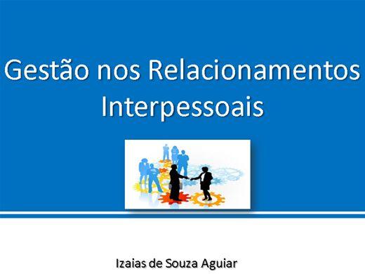 Curso Online de Gestão nos Relacionamentos Interpessoais