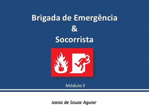 Curso Online de Brigada de Emergência e Socorrista - Módulo 03